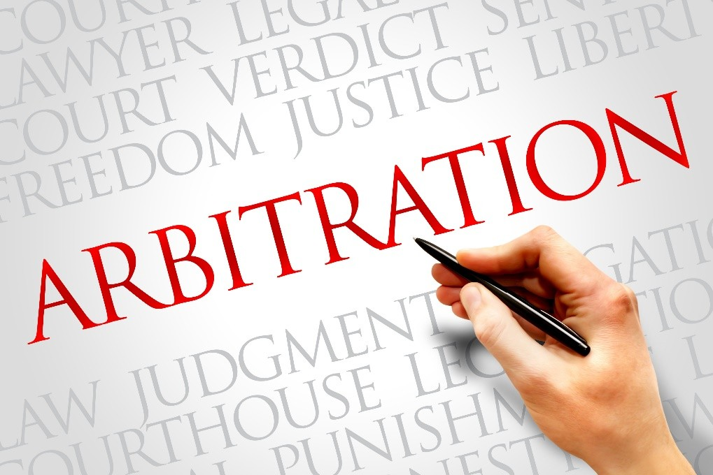 Dispute resolution through Arbitration